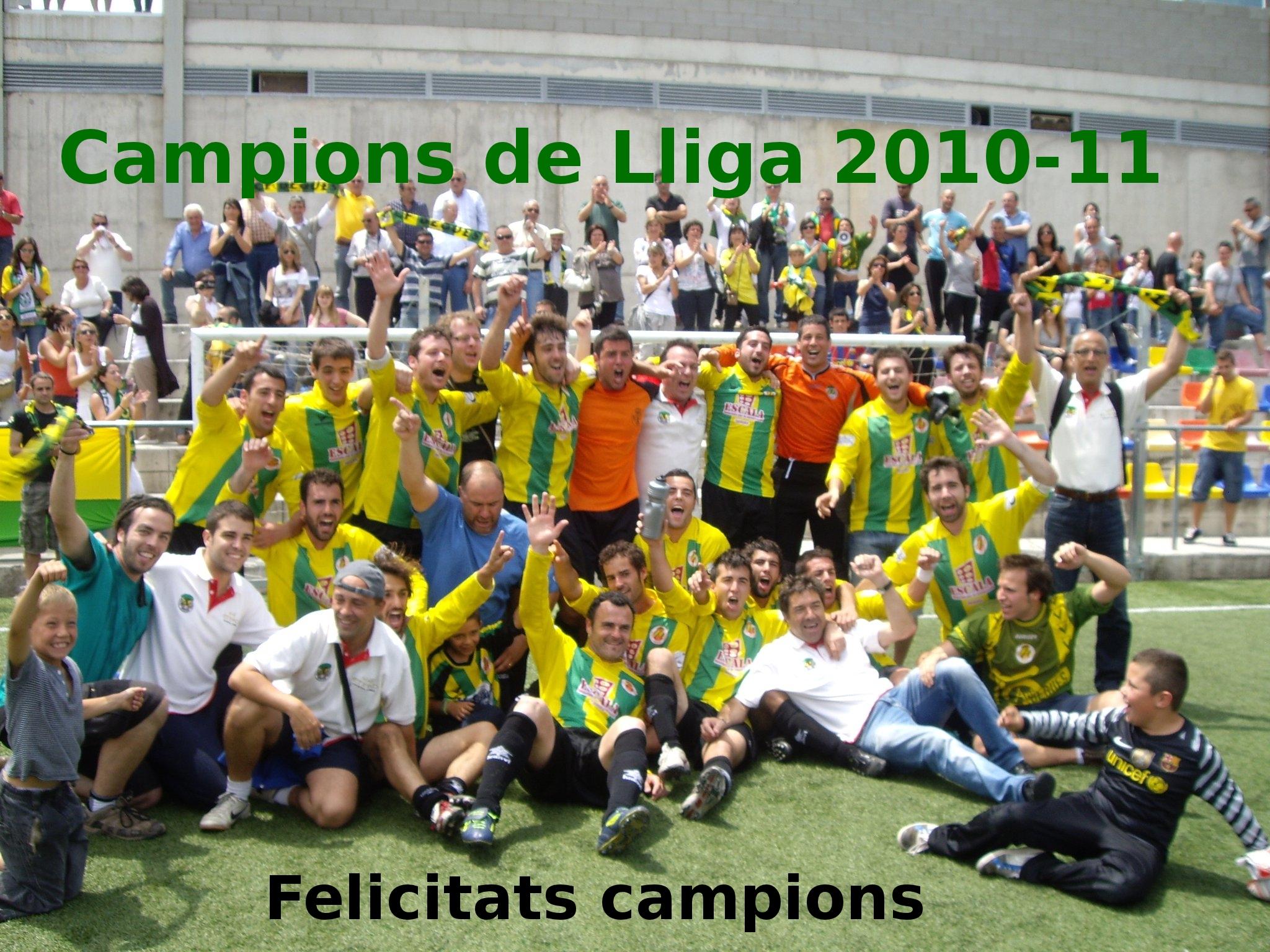 Campions de lliga 2010-2011