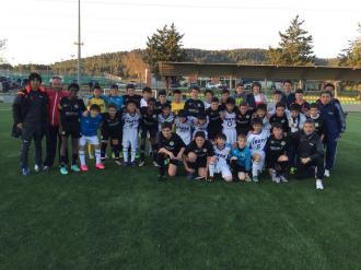El passat dissabte dia 2 es va jugar un partit amistos entre jugadors infantils de 1er any (A/B) del club contra la Selecció  de Tokio Sub 12