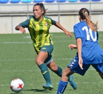 Maria Llompart, entrenadora del club i exjugadora, ha debutat a la Superlliga femenina amb l'Espanyol