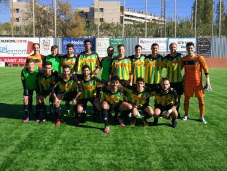 El primer equip ha guanyat a St.Joan Despí per 0-3 amb aquests jugadors