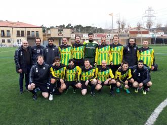 Els veterans van aconseguir la segona victòria del calendari organitzat guanyant 1-0 a la Martinenca