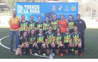 L'equip Femení Sénior va participar en el 10è Torneig de la Dona a Cornellà