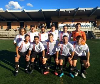 El primer equip va debutar empatant a 0 a Can Roca amb la tercera equipació
