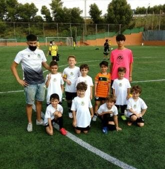 Primer partit amistos dels Prebenjamins, en aquesta temporada 21/22 en la que es federen, i primer victòria per 0-7 a Sant Joan Despí. Felicitats craks!